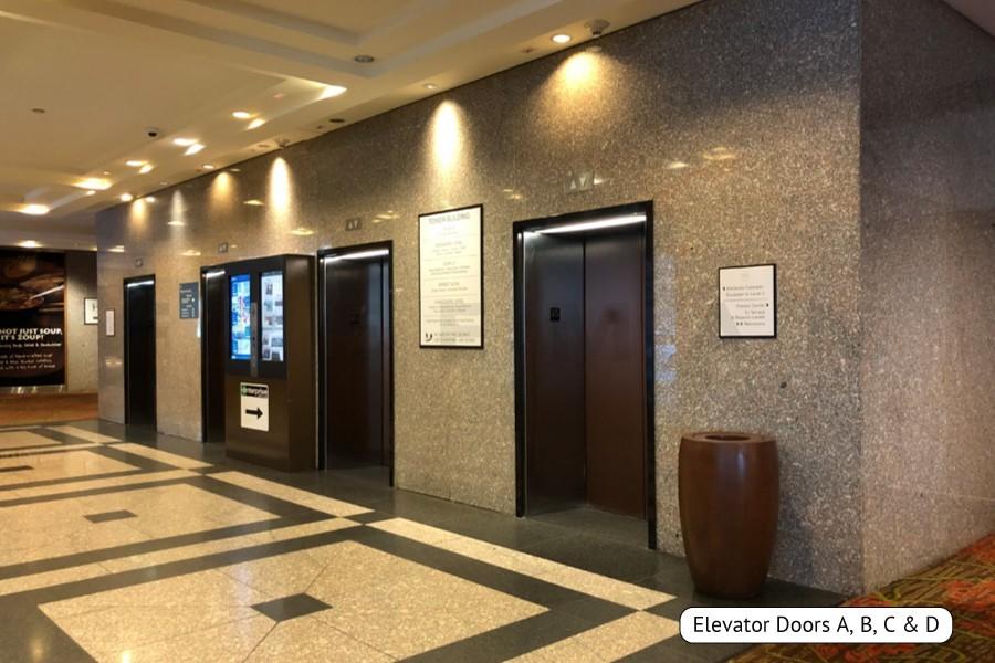 Lobby Elevator Clings