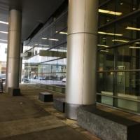 Column Wraps Main Entrance 02