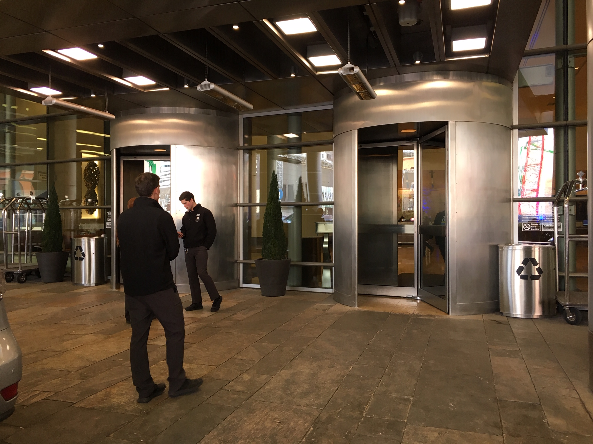 Revolving Doors Main Entrance 01