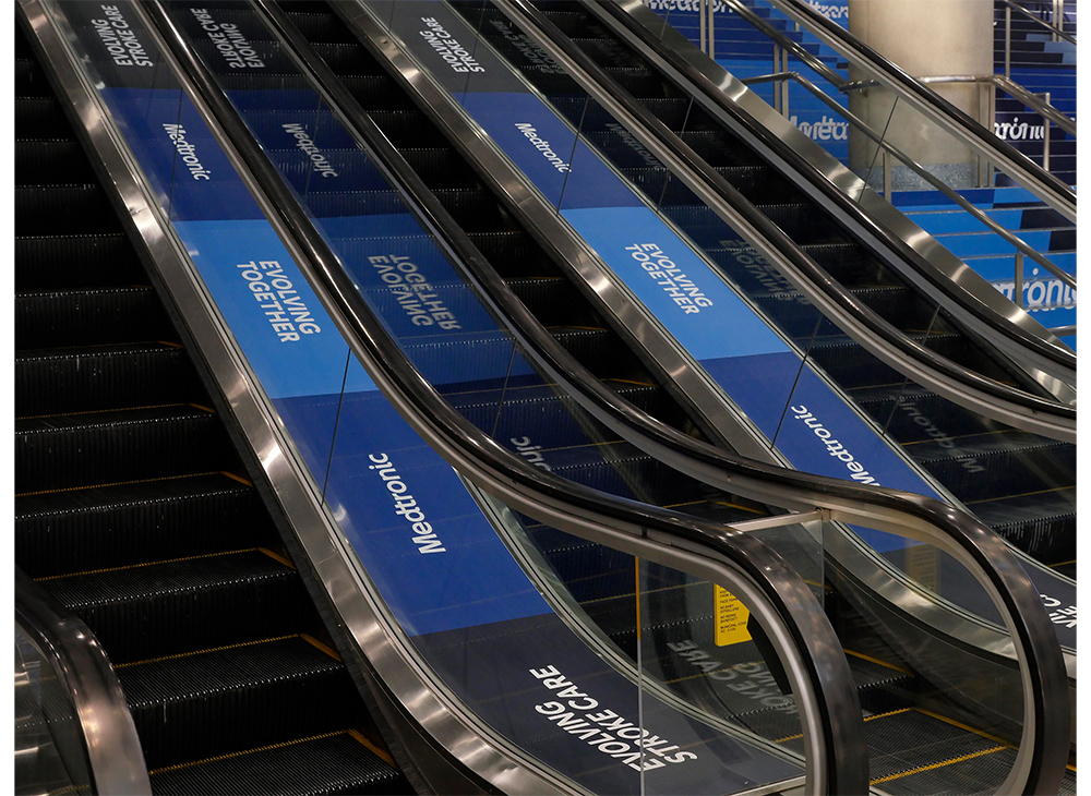 Escalator Decals