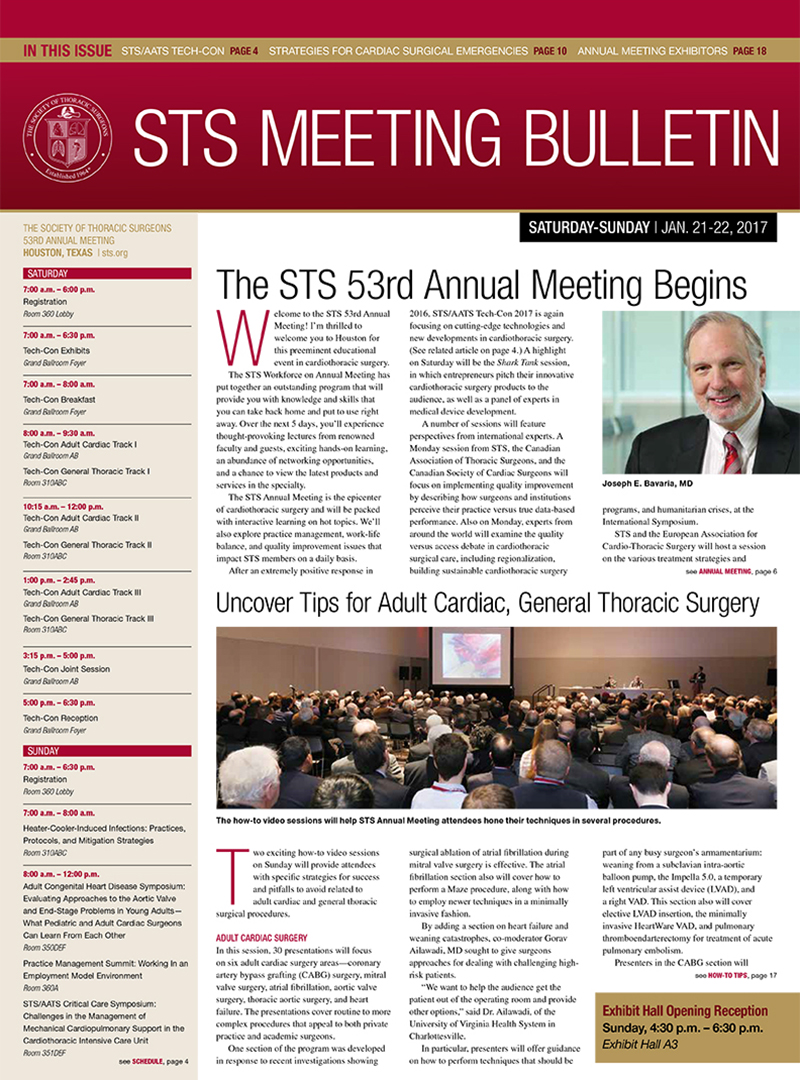 STS Daily rotator 1 – Cover Page